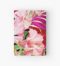 Tropical Power Flowers Hardcover Journal