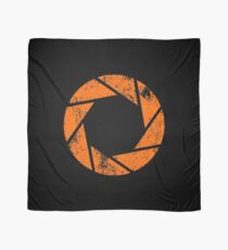 Aperture Science (Orange) Logo · Distressed Scarf