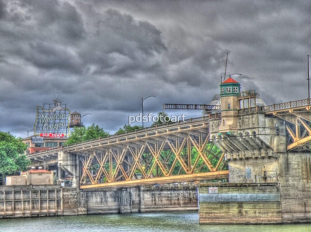Portland Or Bridge 1 by pdsfotoart