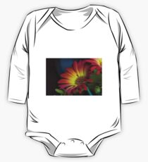 Red Yellow Flower Kids Clothes
