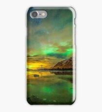 Aurora green iPhone Case/Skin