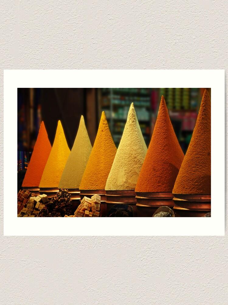 Alternate view of Moroccan Spice Rack Art Print