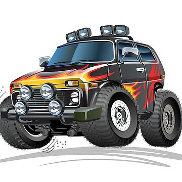 Cartoon jeep by Mechanick