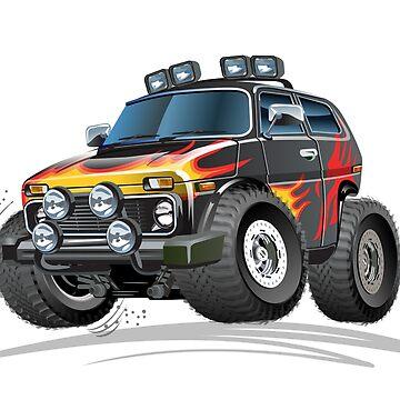 Cartoon jeep by Mechanick