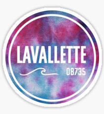 Lavallette - Tie Dye Sticker
