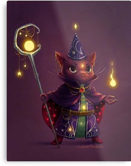 Wizard Cat by larndraws