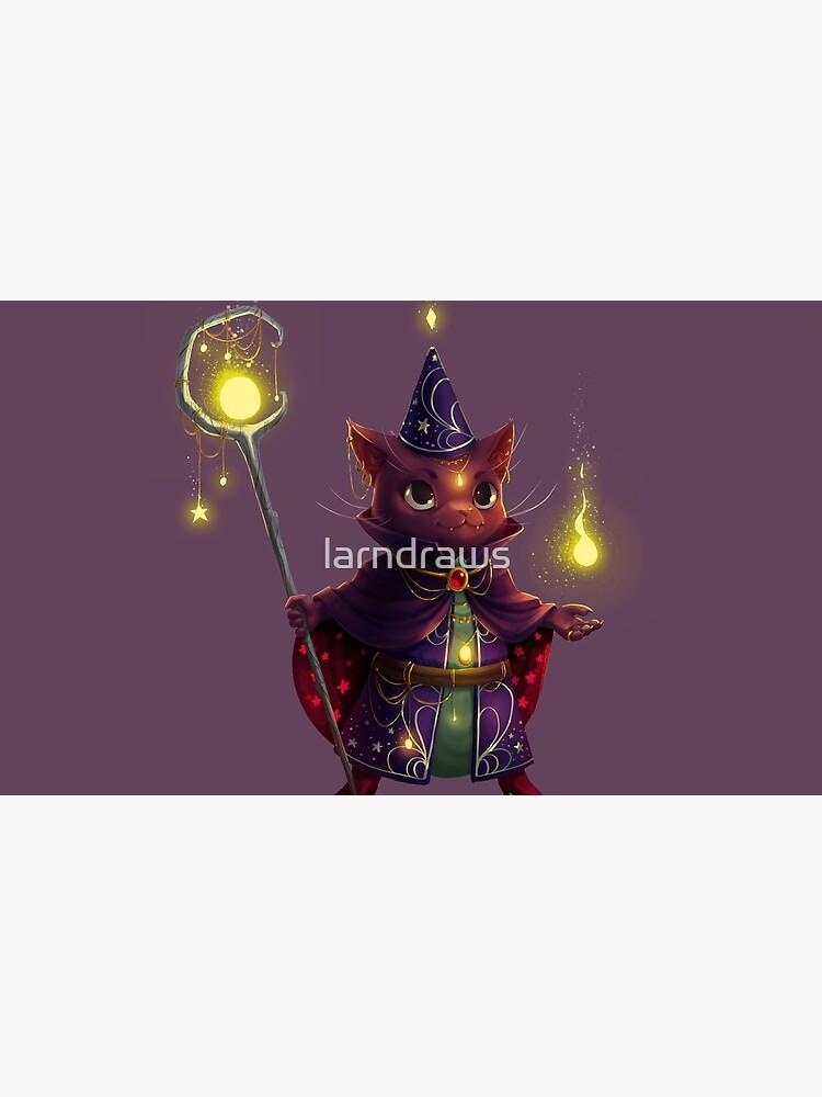 Wizard Cat by larndraws