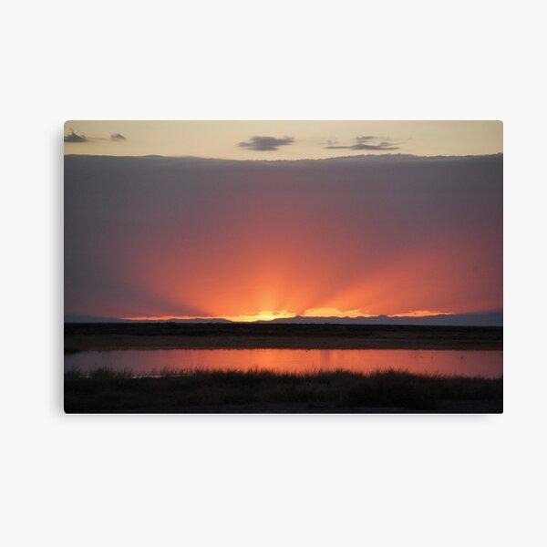 Northern Nevada Sunset Canvas Print