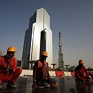 Workers of Dubai by Craig Scarr
