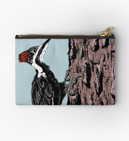 Pileated Woodpecker Studio Pouch