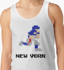 8 bit New York Football 2 Tank Top