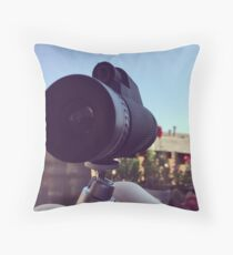 A Lens With A View Throw Pillow