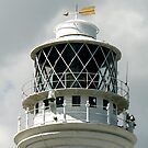 The Light - Flamborough Lighthouse. by Trevor Kersley