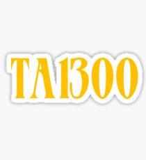 Denzel Curry TABOO | TA13OO Sticker