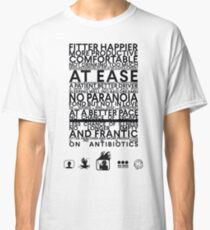 Radiohead - Fitter Happier Classic T-Shirt