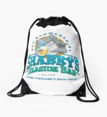 Sharky's Seaside Bar Drawstring Bag