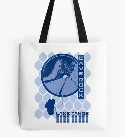Cave Rock (Through the Looking Glass) Tote Bag