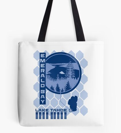 Emerald Bay (Through the Looking Glass) Tote Bag