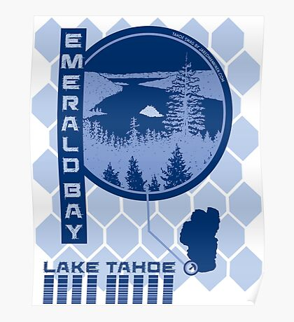 Emerald Bay (Through the Looking Glass) Poster