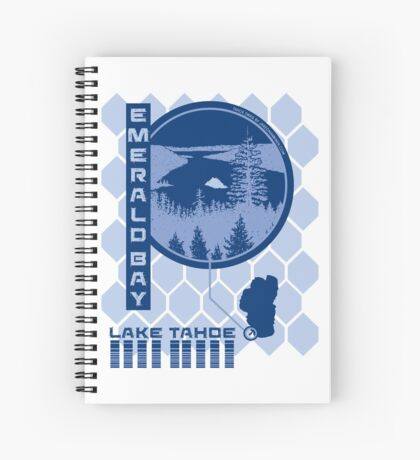 Emerald Bay (Through the Looking Glass) Spiral Notebook