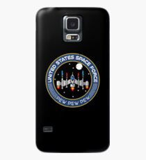 Funny Space Force 8 bit retro game style Spaceship  Case/Skin for Samsung Galaxy
