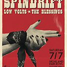 Spindrift Gig Poster - 7/7/2018, Highland Park Bow, LA by Lucy-Faery