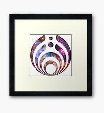 Bassnectar Galaxy Framed Print