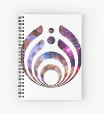 Bassnectar Galaxy Spiral Notebook