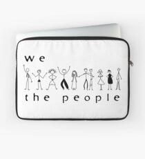 We, the people Laptop Sleeve