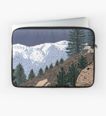 Winter Hike Up Twin Peaks Laptop Sleeve