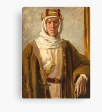 Lawrence of Arabia, Colonel T. E. Lawrence, Augustus John, Date: 1919 Canvas Print