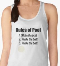 Rules of Pool: Make the Ball Women's Tank Top