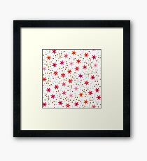 Bright colors background  Framed Print
