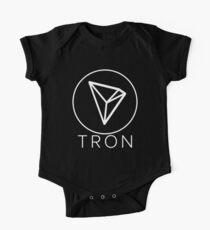 Tron Tronix TRX Crypto Trader Baby Body Kurzarm