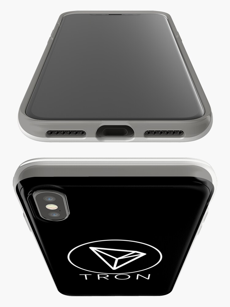 Alternative Ansicht von Tron Tronix TRX Crypto Trader iPhone-Hülle & Cover