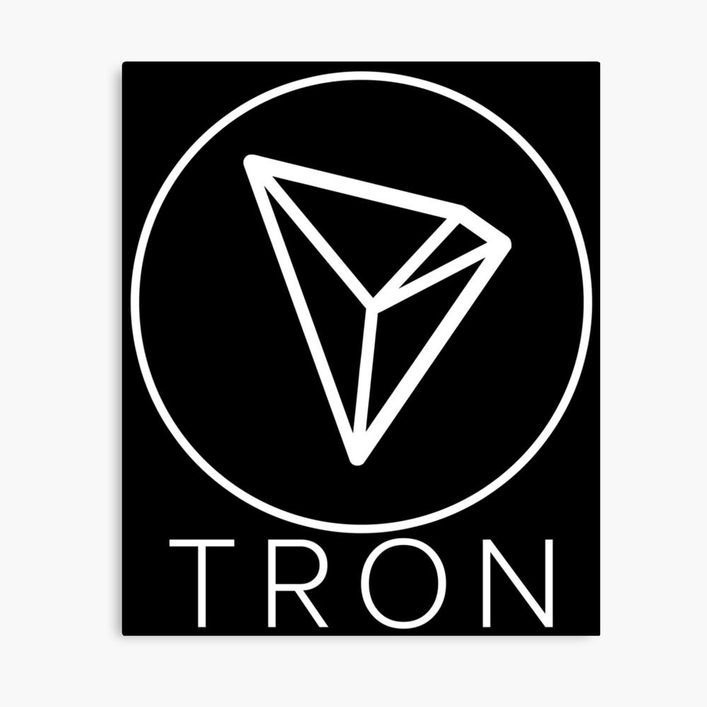 Tron Tronix TRX Crypto Trader Leinwanddruck