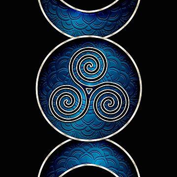 Triple Goddess | Blue by ProfThropp