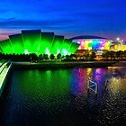 Glasgow at Night by Cathy Jones