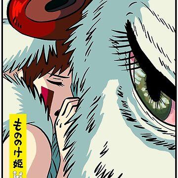 Princess Mononoke // Save the forest (Artwork) by moeyumi
