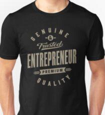 Camiseta unisex Emprendedor genuino