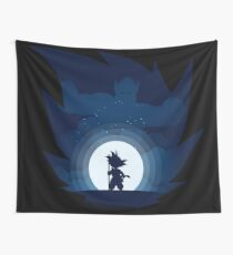 DBZ By the Moonlight Wall Tapestry