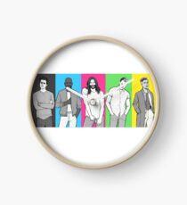 Queer Eye Clock