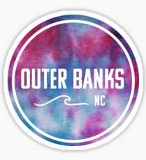 Outer Banks - Tie Dye  Sticker