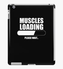 MUSCLES LOADING iPad Case/Skin