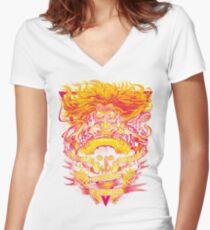 FURY ROAD: IMMORTAN JOE Women's Fitted V-Neck T-Shirt