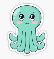 cute baby octopus Sticker