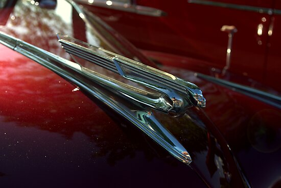 1941 Chevrolet Convertible Hood Ornament by TeeMack
