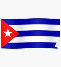 Cuba, national id Poster