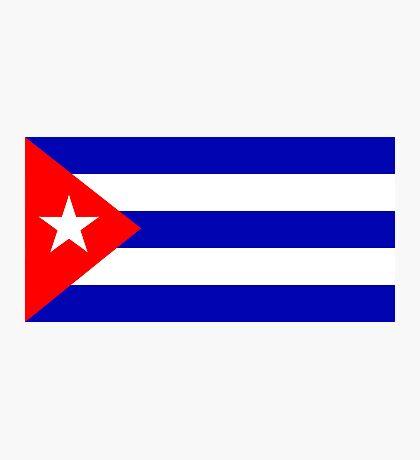 Cuba, national id Photographic Print