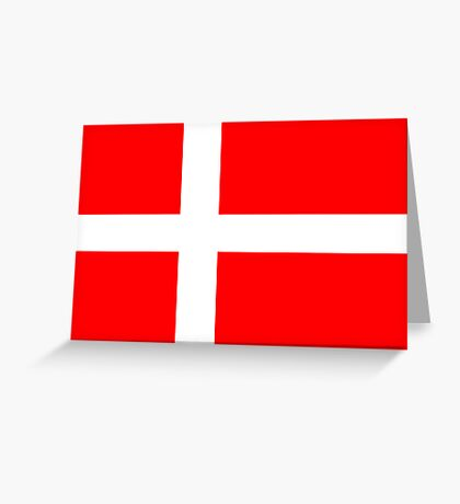 Denmark, national id Greeting Card
